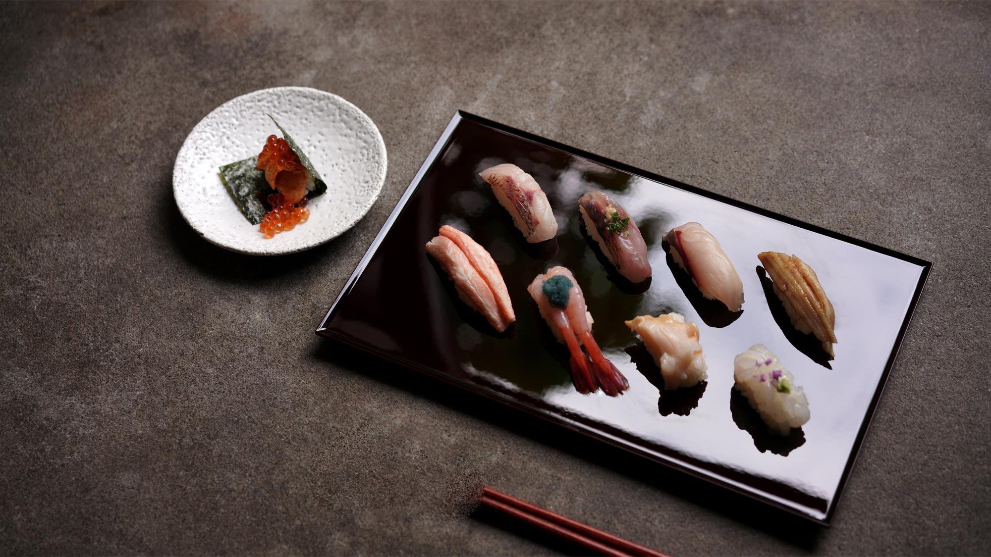 鮨 風和利のMENU Kanazawa Jizakanamamire Sushiの画像です。