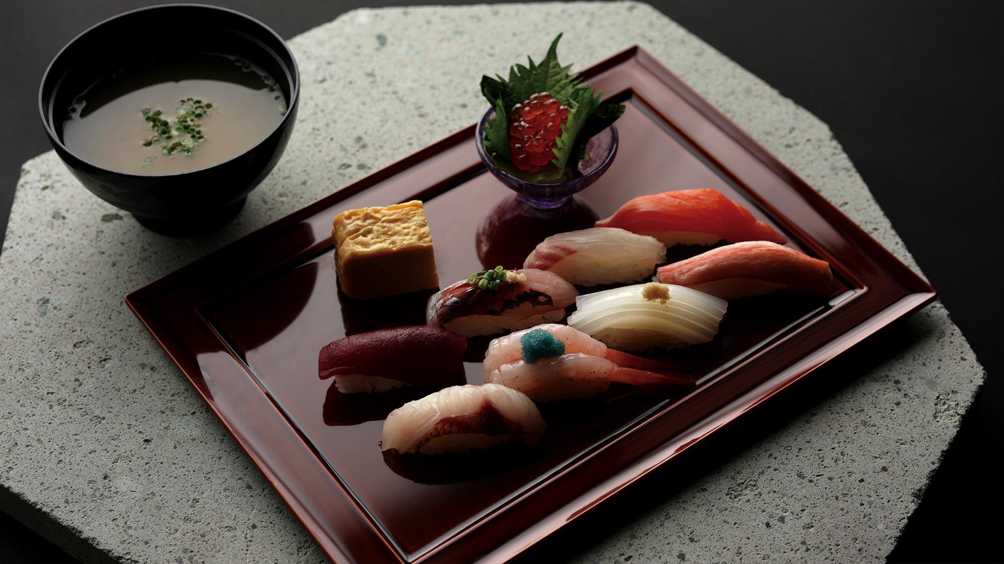鮨 風和利のMENU Fuwari Hyakuban Sushiの画像です。