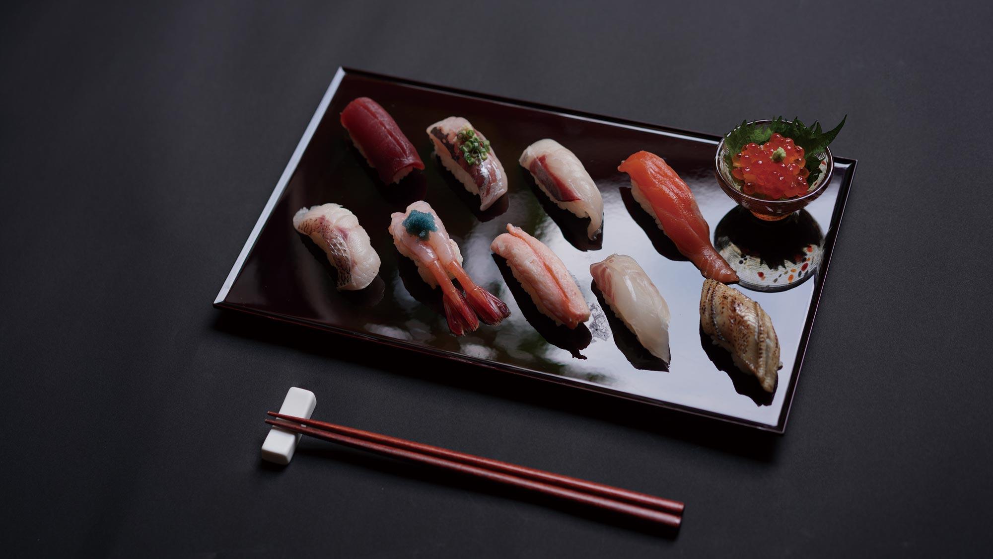 鮨 風和利のMENU Hyakumangoku Zeitaku Sushiの画像です。